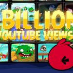 Angry Birds celebra 1 miliardo di visualizzazioni sul proprio canale YouTube