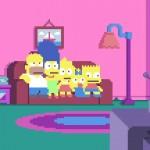 La sigla dei Simpson rifatta in Pixel Art
