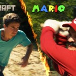 Super Mario contro Steve di Minecraft