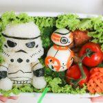 Pausa pranzo con Star Wars: Stormtrooper di riso e BB-8