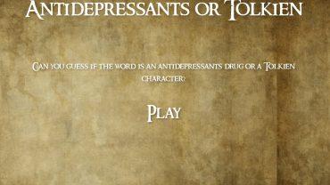 Antidepressivi o Tolkien