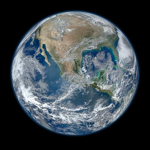 Blue Marble: la foto della Terra con la più alta risoluzione