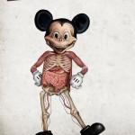 Anatomia di alcuni personaggi Disney
