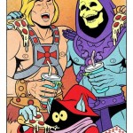 He-Man, Skeletor e la pizza
