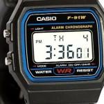 """Casio F-91W, l'orologio """"ufficiale"""" dei terroristi"""