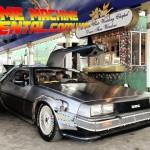 La DeLorean di Ritorno al Futuro a noleggio