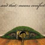 La lettiera per gatti con le forme della casa di un Hobbit