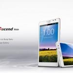 """Huawei Ascend Mate, lo """"smartphone"""" con schermo da 6.1″"""