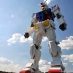 La replica in scala di Gundam RX-78-2 fatta coi LEGO