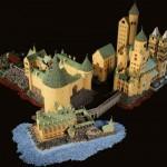 Una fantastica replica di Hogwarts fatta tutta di LEGO