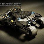Il Tumbler di Batman fatto di LEGO