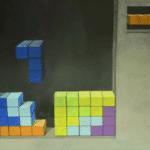 Una spettacolare opera dedicata a Tetris