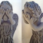 La bambola Weeping Angel di Doctor Who
