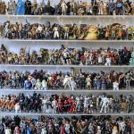 Una super asta di 1.950 action figure di Star Wars