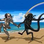 Alien e Predator finalmente insieme e felici