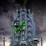 L'Arkham Asylum rifatto con i LEGO