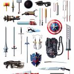 Le armi più famose della TV, del cinema e dei videogames