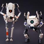 Portal 2 LEGO Robot