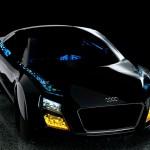 Le tecnologie delle luci Audi del futuro