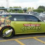L'auto delle Tartarughe Ninja