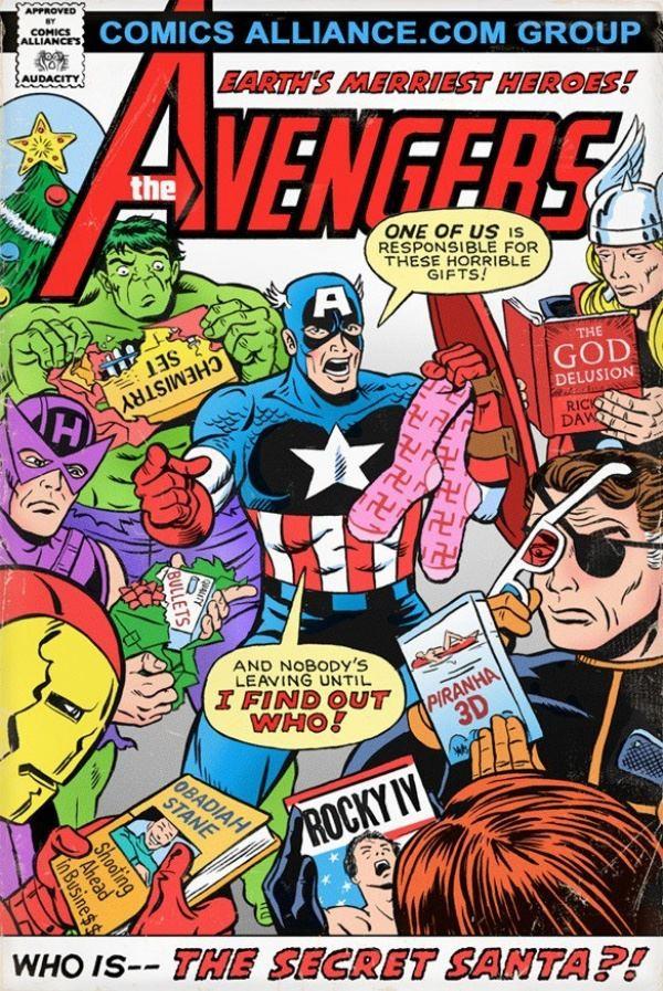 Il Fumetto Natalizio Degli Avengers Geekjournal