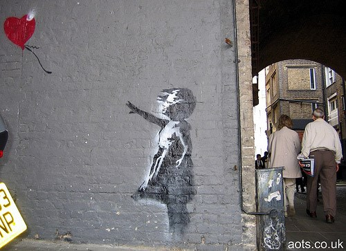 banksy-balloon