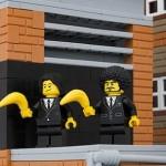 Alcune opere di Banksy rifatte coi LEGO