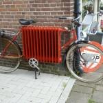 La bici-calorifero per combattere il freddo