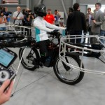 Bicicottero, il mashup tra una bici e un eleicottero