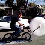 """La bicicletta da """"imballaggio"""""""
