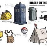 """Gli oggetti """"Bigger on the inside"""""""