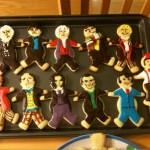 Gli 11 Dottori di Doctor Who in versione biscotto