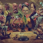Le caricature dei personaggi di Breaking Bad