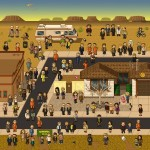Breaking Bad in stile videogame