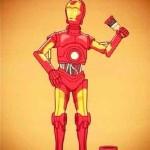 C-3PO e il sogno di diventare Iron Man