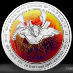 Il Canada dedica delle monete ai 75 anni di Superman