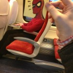Come passa il tempo un artista che viaggia in treno