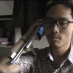 Carrello da braccio per smartphone in stile Taxi Driver