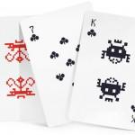 Le carte di Space Invaders