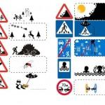 Le vere immagini dei cartelli stradali