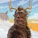 Chewbecca si prepara per il Natale