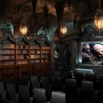 Un cinema casalingo in stile Batcaverna