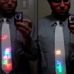 La cravatta interattiva dedicata a Tetris