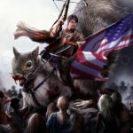 Daryl Dixon a caccia con un mega scoiattolo