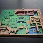 Dei diorami di carta dedicati al mondo dei videogames