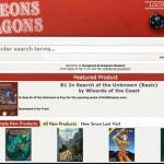 Dungeons & Dragons, l'archivio dei classici in PDF è online