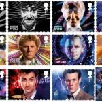 I francobolli per il 50° anniversario di Doctor Who