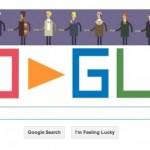 Il doodle dedicato ai 50 anni di Doctor Who
