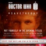 Metti il tuo volto nella sigla di Doctor Who