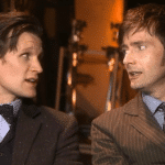 Due chiacchiere tra David Tennant e Matt Smith